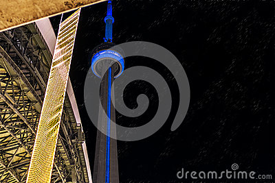 CN Tower at Toronto Editorial Photography