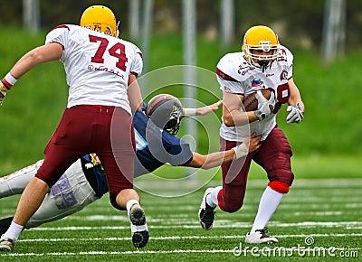 CNC Gladiators vs. Vukovi Beograd Editorial Photography