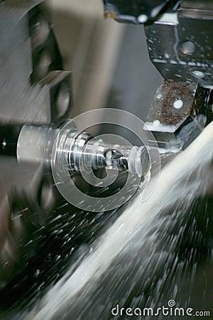 Free CNC Lathe Machine Stock Photography - 9461302