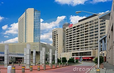 CNN Center Editorial Stock Photo