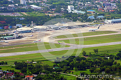 Cnx, Chiang mai international airport Editorial Stock Photo