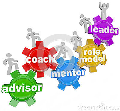 Free Coach Advisor Mentor Leading You To Achieve Goals Royalty Free Stock Photos - 31479138
