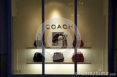 Coach Handbag Purse Store Editorial Photography - Image ... Coach Store Display