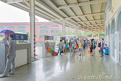 coach Station Editorial Stock Image