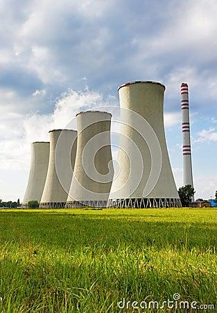 Free Coal-burning Power Plant Stock Photos - 29542433