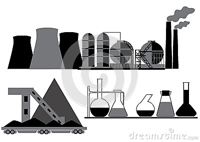 Coal, chemical, oil industry