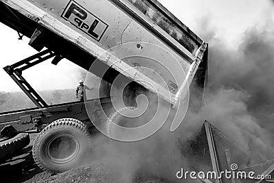 Coal Dust Editorial Stock Image
