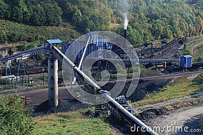 Coal mine Editorial Photography