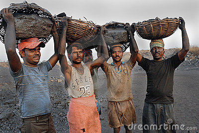 Coal mines in India Editorial Image