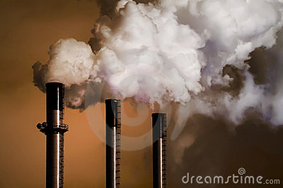 Coal Plant Smoke Stacks