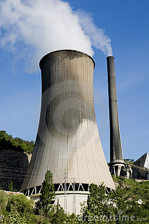 Free Coal Power Plant Royalty Free Stock Image - 2546446