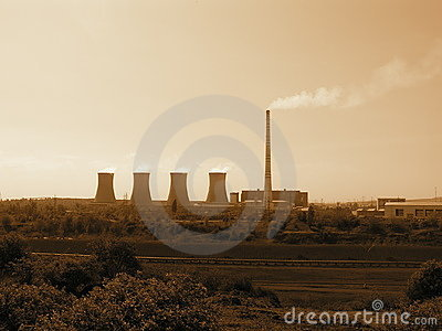 Coal Power Plant Prunerov