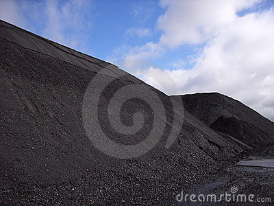Coal stockpile