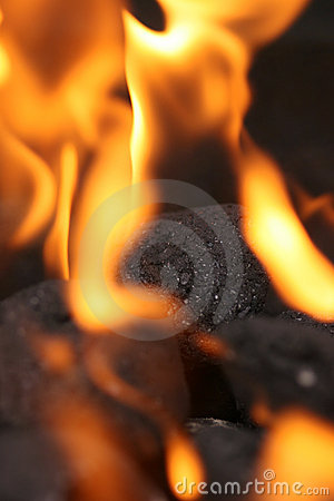 Free Coals On Fire Royalty Free Stock Image - 175416