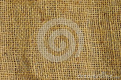 Coarse burlap fabric