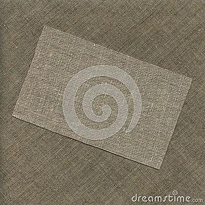 Coarse cloth