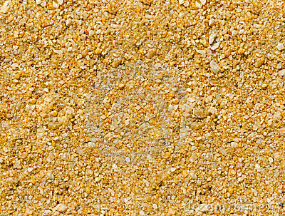 Coarse-grained sand