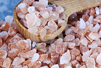 Coarse Himalayan Pink Salt Spoon
