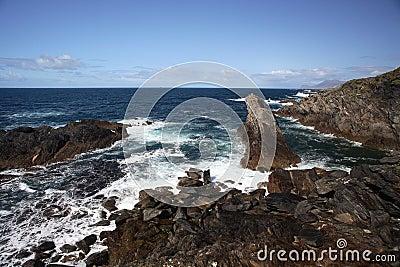Coast in Achill Island