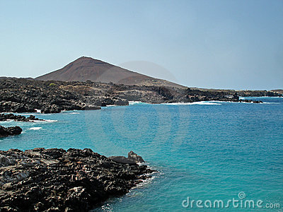 Coast of Ascension Island