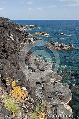 Coast in Azores
