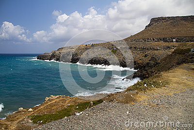 Coast of crete