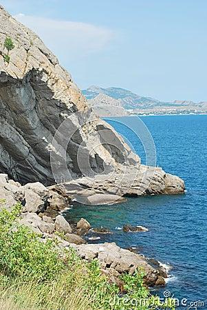 The coast of Crimea