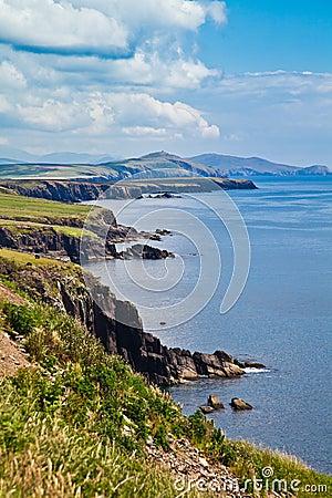 Coast at Dingle Peninsula