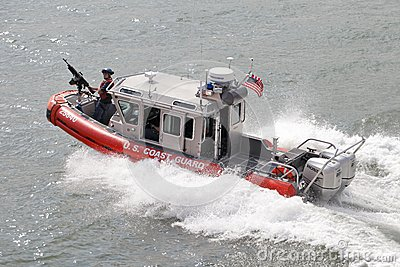 Coast Guard Editorial Image