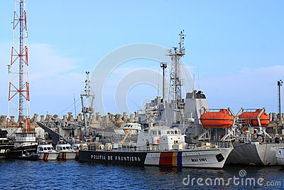Coast guard boat Editorial Photography