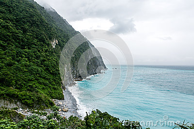 Coast in Hualien, Taiwan
