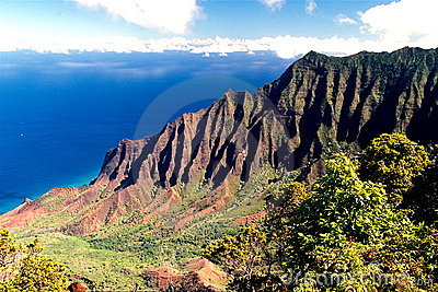 Coast of Kauai, Hawaii