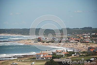 Coast of La Paloma