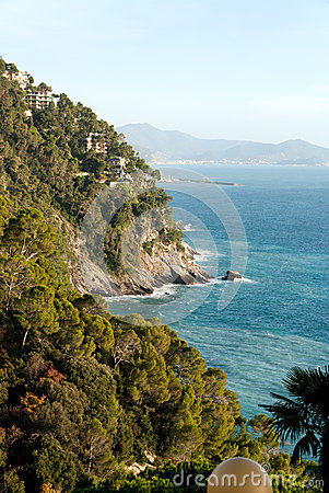 Coast in Liguria