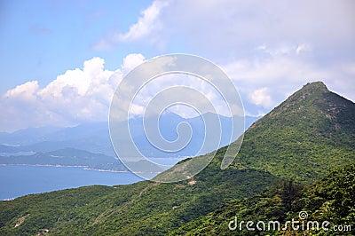 Coast line landscape
