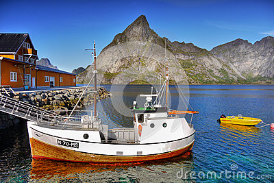 Coast of Lofoten Islands