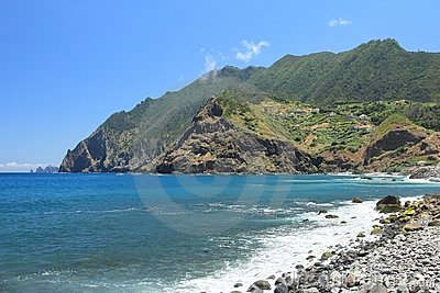 The coast of Madeira, Portugal