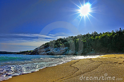 Coast of Maine Beach in Acadia National Park