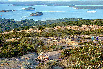 Coast of Maine Seascape in Acadia National Park