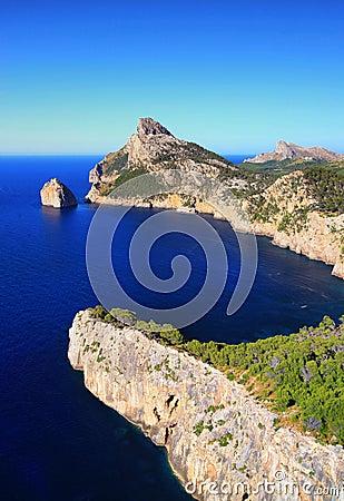 Coast in Mallorca