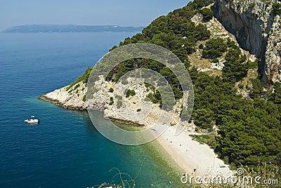 Coast near by Makarska
