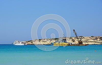 Coast in Paphos