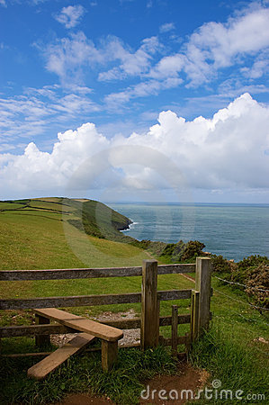 Coast Path and Stile