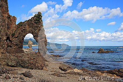 Coast of Sakhalin Island