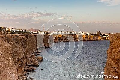 Coast in Sharm al-Sheikh