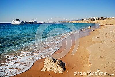 The coast of sharm el sheikh