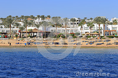 Coast Sharm El Sheikh Editorial Stock Photo