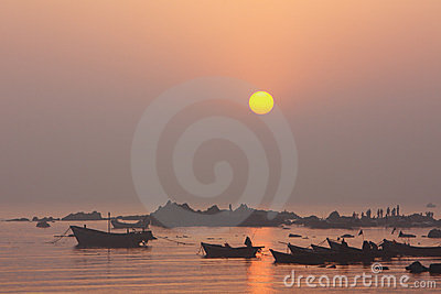 Coast sunrise