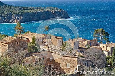 Coast village near Deja