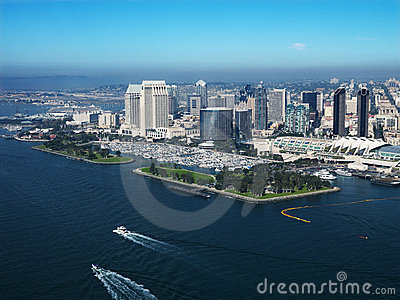 Coastal city of San Diego.